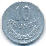 Польша, 10 грошей (1949 г.)