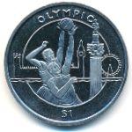 Сьерра-Леоне, 1 доллар (2012 г.)