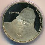 Новая Зеландия, 1 доллар (2005 г.)
