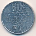 Жетоны, 50 центов (1983 г.)