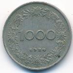 Австрия, 1000 крон (1924 г.)