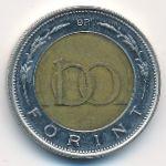 Венгрия, 100 форинтов (1997–1998 г.)