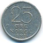 Норвегия, 25 эре (1974–1977 г.)
