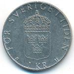 Швеция, 1 крона (1977–1979 г.)