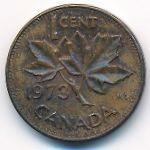 Канада, 1 цент (1973 г.)