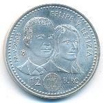Испания, 12 евро (2004 г.)