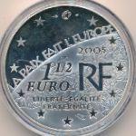 Франция, 1 1/2 евро (2005 г.)