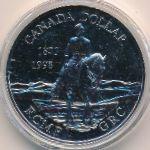 Канада, 1 доллар (1998 г.)