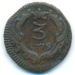 Сицилия, 3 пичиоли (1775 г.)