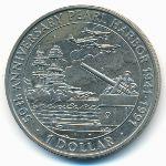 Соломоновы острова, 1 доллар (1991 г.)