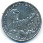 Ниуэ, 5 долларов (1990 г.)