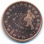 Словения, 5 евроцентов (2007 г.)