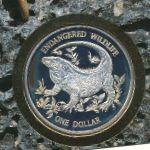 Каймановы острова, 1 доллар (1995 г.)
