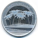 Фиджи, 1 доллар (2018 г.)