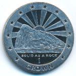 Гибралтар, 1 крона (1995 г.)
