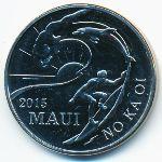 Гавайские острова, 2 доллара (2015 г.)