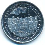 Фолклендские острова, 1 крона (2008 г.)