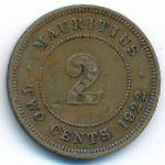 Маврикий, 2 цента (1922 г.)
