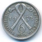 Южная Родезия, 6 пенсов (1932 г.)