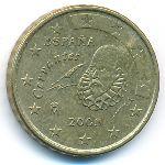 Испания, 10 евроцентов (2003 г.)