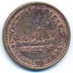 South Africa, 1/2 penny, 1870