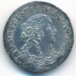 Тассароло, 1 луиджино (1666 г.)
