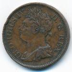 Ирландия, 1/2 пенни (1823 г.)