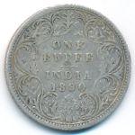 Британская Индия, 1 рупия (1890 г.)