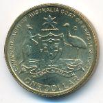 Австралия, 1 доллар (2008 г.)