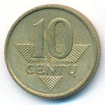 Литва, 10 центов (2008 г.)