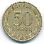 Литва, 50 центов (1997 г.)
