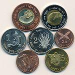 Андаманские и Никобарские острова, Набор монет (2011 г.)