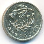 Великобритания, 1 фунт (2014 г.)