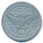 США, 1/4 доллара (1909 г.)