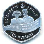 Каймановы острова, 10 долларов (2007 г.)