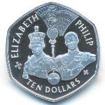 Восточные Карибы, 10 долларов (2007 г.)