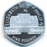 Остров Святой Елены и острова Вознесения, 5 фунтов (2007 г.)