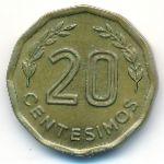 Уругвай, 20 сентесимо (1977 г.)