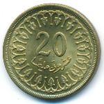 Тунис, 20 миллим (1983 г.)