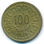 Тунис, 100 миллим (1983 г.)