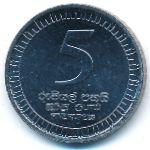 Шри-Ланка, 5 рупий (2017 г.)