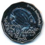 Кокосовые острова, 50 центов (2004 г.)