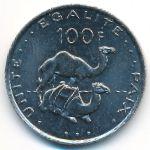 Джибути, 100 франков (1977–2013 г.)