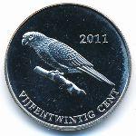 Остров Саба, 25 центов (2011 г.)