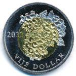 Остров Бонайре, 5 долларов (2011 г.)