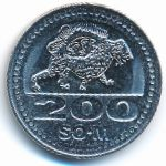 Узбекистан, 200 сум (2018 г.)