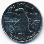Новая Зеландия, 1 доллар (1988 г.)