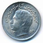 Иран, 1 риал (1975 г.)