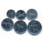 Эритрея, Набор монет (1997 г.)