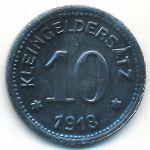 Кверфурт., 10 пфеннигов (1918 г.)